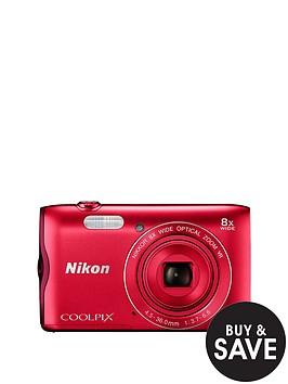 nikon-coolpix-a300-red