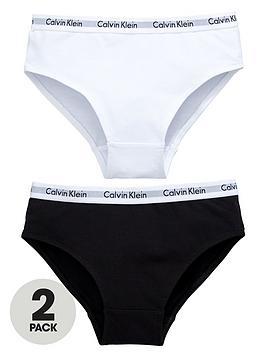 calvin-klein-girls-whiteblack-bikini-briefs-2-pack