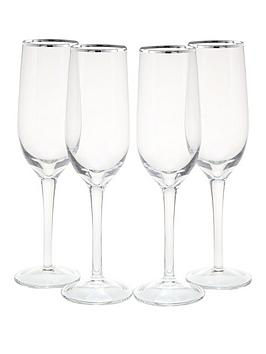 platinum-band-champagne-flutes-4-pc