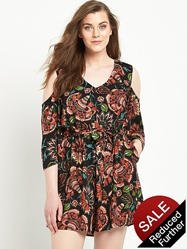 so-fabulous-cold-shoulder-printed-playsuit