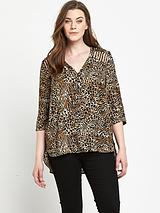 LATTICE DETAIL BLOUSE