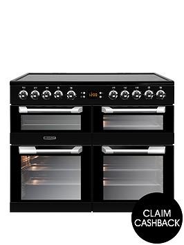 leisure-cs100c510k-cuisinemaster-100cm-electric-range-cooker-with-ceramic-hob-and-optional-connection-ndash-black