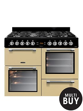 leisure-ck100f232c-cookmaster-100cm-dual-fuel-range-cooker-with-optional-connection-cream