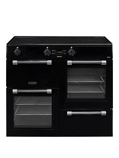 leisure-ck100d210k-cookmaster-100cm-electric-range-cooker-with-induction-hob-and-optional-connection-black