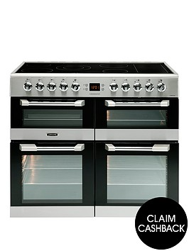 leisure-cs100c510x-cuisinemaster-100cm-electric-range-cooker-with-ceramic-hob-including-connection-stainless-steel