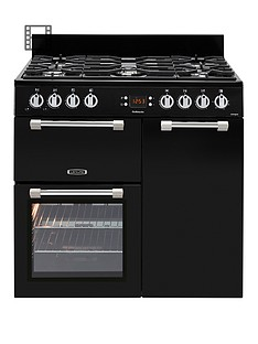 leisure-ck90g232k-cookmaster-90cm-gas-range-cooker-with-electric-fan-oven-and-optional-connectionnbsp--black