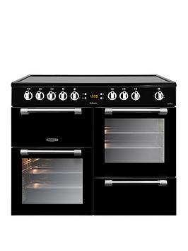 Leisure Ck100C210K Cookmaster 100Cm Electric Range Cooker With Ceramic Hob And Optional Connection  Black  Cooker Only