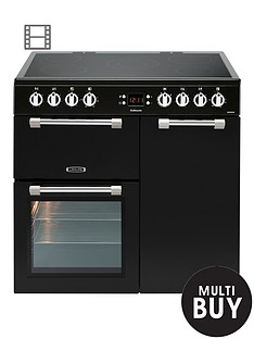 leisure-ck90c230k-cookmaster-90cm-electric-range-cooker-with-ceramic-hob-with-optional-connection-black