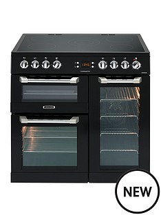 leisure-cs90c530k-cuisinemaster-90cm-electric-range-cooker-with-ceramic-hob-and-optional-connection-black