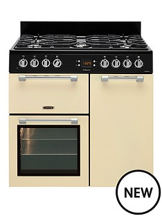 leisure-ck90f232c-cookmaster-90cm-dual-fuel-range-cooker-cream