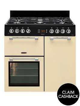 leisure-ck90f232c-cookmaster-90cm-dual-fuel-range-cooker-cream