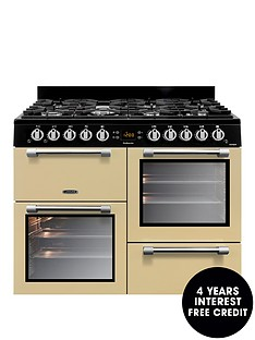 leisure-ck100g232c-cookmaster-100-100cm-gas-range-cooker-with-optional-connectionnbsp--cream