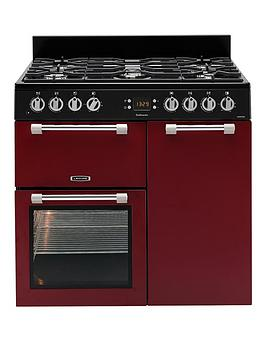 Leisure Leisure Ck90F232R Cookmaster 90Cm Dual Fuel Range Cooker - Red Picture