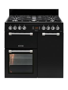 Leisure Leisure Ck90F232K Cookmaster 90Cm Dual Fuel Range Cooker - Black Picture