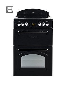 leisure-cla60cek-60cm-electric-classic-range-style-cookernbspand-optional-connection-black