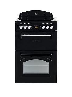 leisure-cla60cek-60cm-electric-classic-mini-range-cooker-with-optional-connection-black