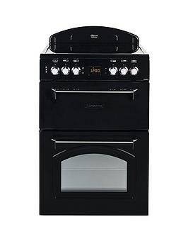 leisure-cla60cek-60cm-electric-classic-mini-range-cooker-with-optional-connection-black