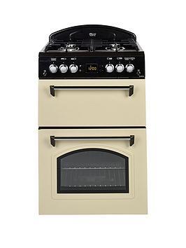 leisure-cla60gac-gas-60cm-classic-mini-range-cooker-cream