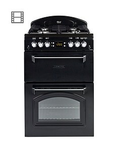 leisure-cla60gac-gas-60cm-classic-mini-range-cooker-with-connection-black