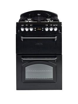 leisure-cla60gac-gas-60cm-classic-mini-range-cooker-with-connection-black