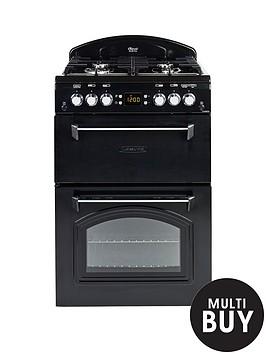 leisure-cla60gac-gas-60cm-classic-mini-range-cooker-with-optional-connection-black