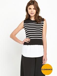 v-by-very-sleeveless-striped-2-in-1-jumper
