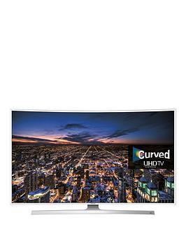 Samsung 43 Inch Curved White Uhd Crystal Colour Hdr Smart Tv Ue43Ku6510Uxxu