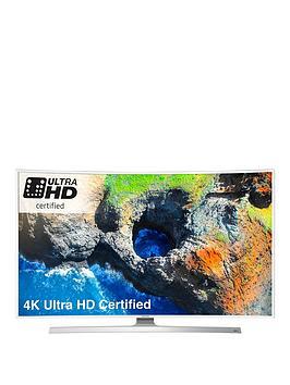 Samsung 49 Inch Curved White Uhd Crystal Colour Hdr Smart Tv Ue49Ku6510Uxxu