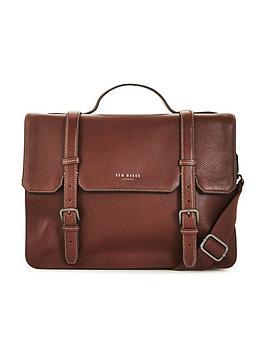 ted-baker-pebble-grain-leather-satchel