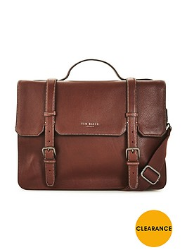 ted-baker-pebble-grain-leather-satchel