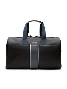 ted-baker-striped-webbing-holdall