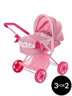 hauck-diana-2-in-1-dolls-pram-amp-carrycot