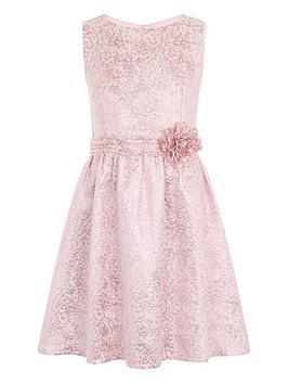 little-misdress-girls-metallic-baroque-dress