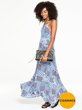 v-by-very-lace-up-detail-maxi-dress