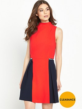 v-by-very-colour-block-zip-dress