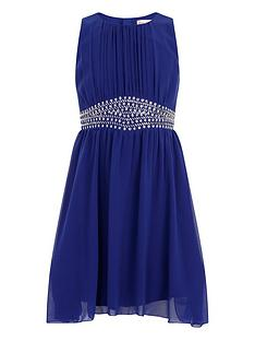 little-misdress-girls-embellished-waist-chiffon-dress