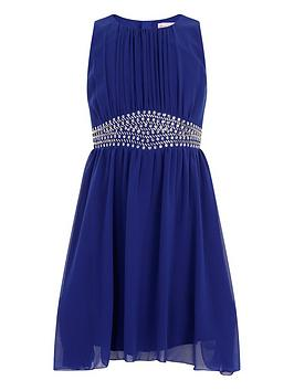 little-misdress-girls-embellished-waist-chiffon-dress