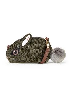 joe-browns-so-cute-bunny-handbag-green