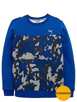 puma-older-boys-camo-sweat-top