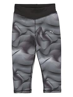 puma-puma-older-girls-active-print-capri-tight