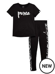 puma-puma-older-girls-foil-print-tee-and-legging-set