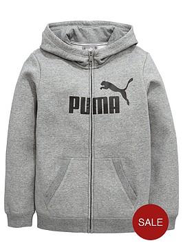 puma-puma-older-boys-essential-logo-full-zip-hoody