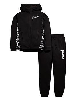 puma-older-girls-fleece-hoodienbspand-joggers-set
