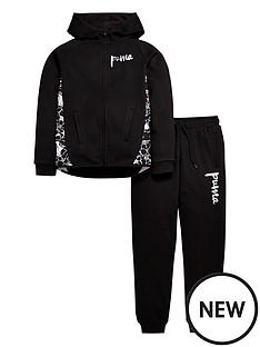puma-older-girls-hooded-fleece-suit