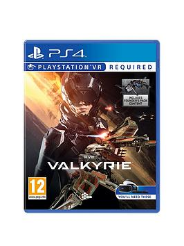 Playstation 4 Eve Valkyrie  Playstation Vr