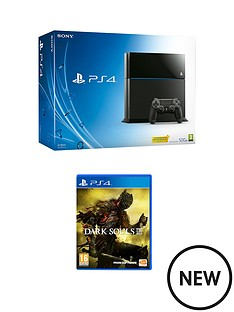 playstation-4-500gb-console-with-dark-souls-3-with-optional-extra-dualshock-controller-and-365-psn-subscription
