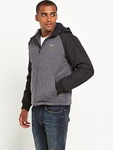 Sport Mixed Fabric Blouson Jacket