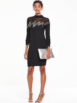 v-by-very-zignbspzag-sequin-bodyconnbspknitted-dress