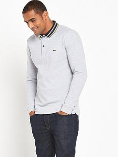 lacoste-sportswear-long-sleeved-tipped-polo