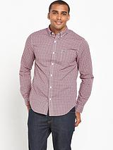 Sportswear Long Sleeve Checked Shirt
